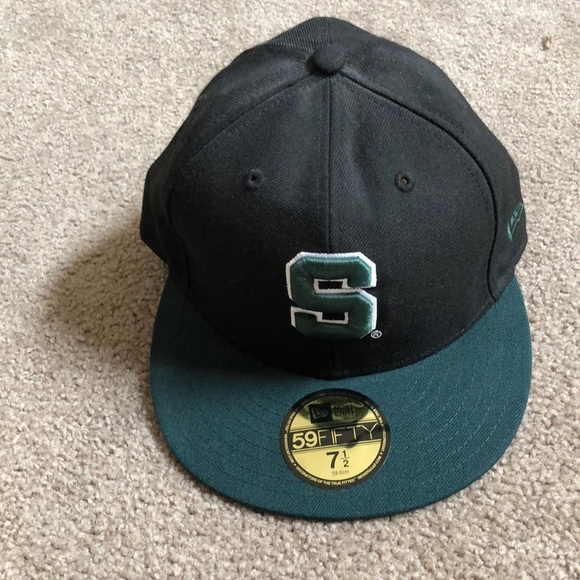 super popular c0d64 1cdad Size 7 1 2 Michigan State University Spartans hat.  M 5c60611e95199685693d3c85